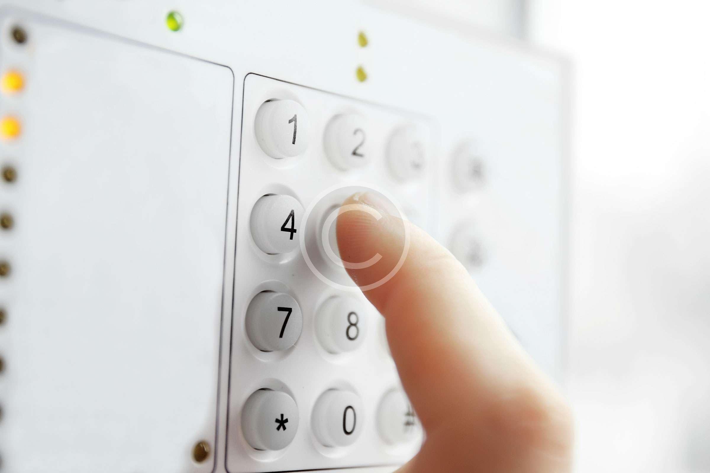 security-keypad